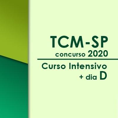 TCM SP Concurso 2021   Curso Intensivo Online