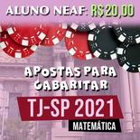 Apostas para Gabaritar o TJSP 2021 | Matemática