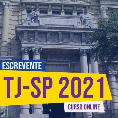 Concurso Escrevente TJ SP 2021 | Curso Online