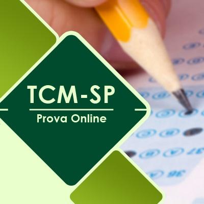 TCM SP Concurso 2021 Vunesp   Simulado Online