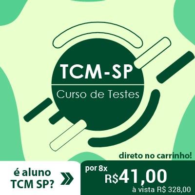 TCM SP Concurso 2021 | Curso de Questões