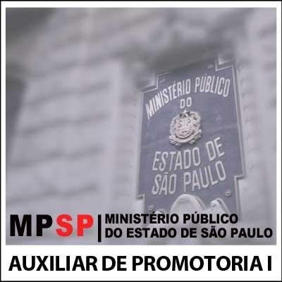 Auxiliar de Promotoria I AA MP SP - Legislação