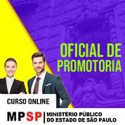 MPSP Oficial de Promotoria Concurso 2021 Vunesp | Curso Online