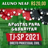 Apostas para Gabaritar o TJSP 2021 | Direito Processual Civil