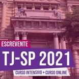 Concurso Escrevente TJSP 2021 | COMBO Curso Online + Teoria e Testes ao Vivo