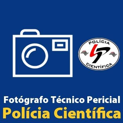 SPTC - Polícia Científica - Fotógrafo Técnico Pericial -Técnicas de Audiovisual