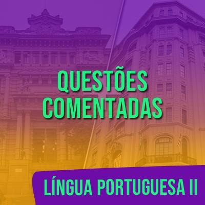 Questões Comentadas para TJSP e MPSP Concurso Vunesp 2021   Língua Portuguesa II