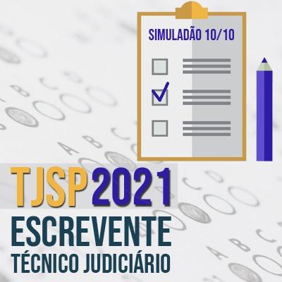 Escrevente TJSP Concurso 2021 | Prova Online 10/10